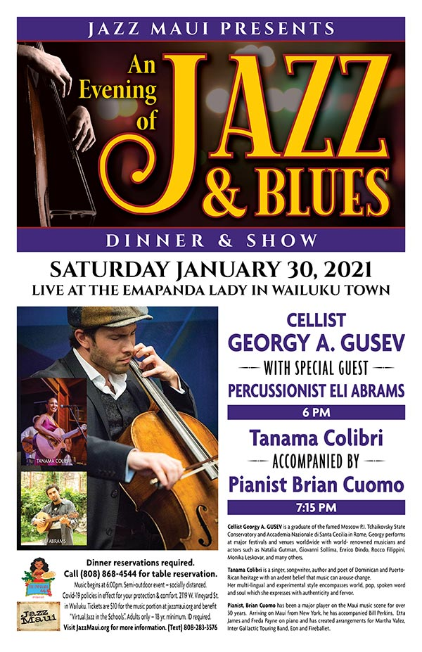 An Evening of Jazz & Blues with Georgy Gusev