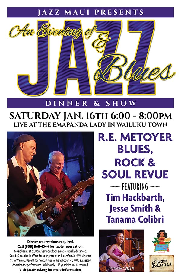 An Evening of Jazz & Blues with R.E. Metoyer Blues