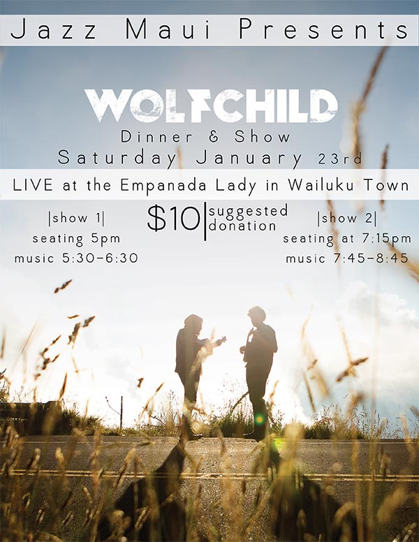 An Evening of Jazz & Blues with Wolfchild