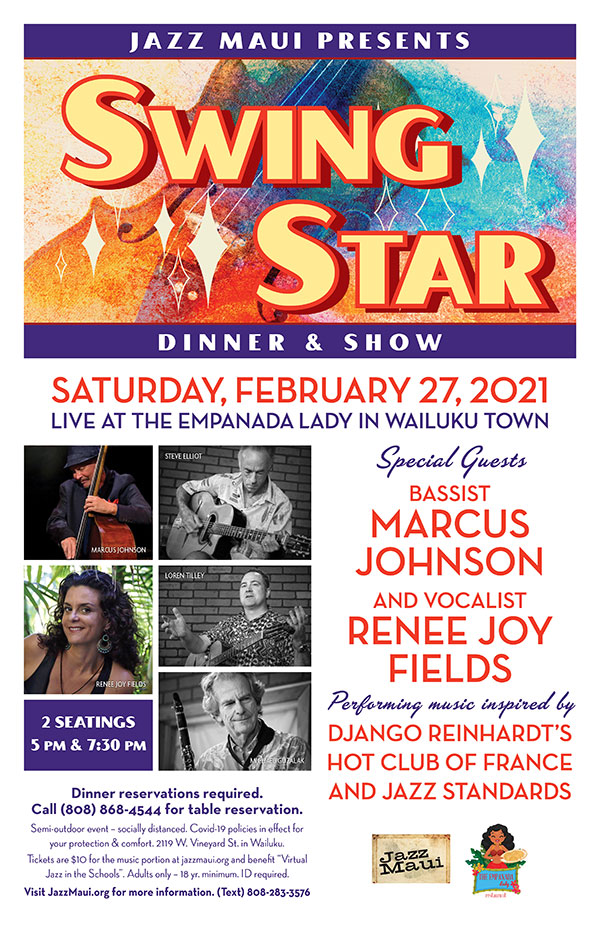 Jazz Maui Presents: Swing Star