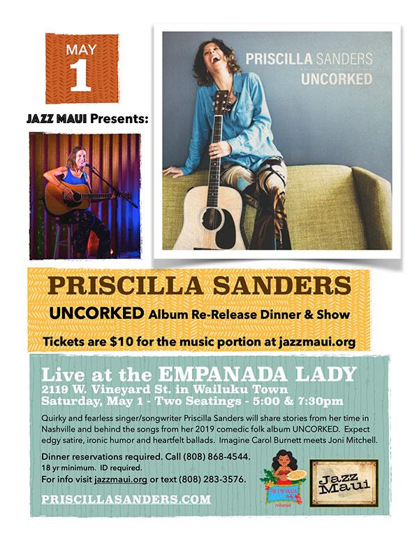 Jazz Maui Presents: Priscilla Sanders