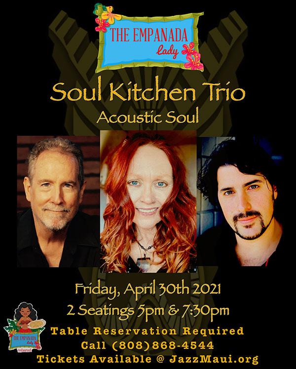 Jazz Maui Presents: Soul Kitchen Trio