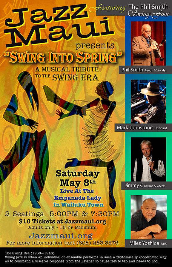 Jazz Maui Presents: Swing Into Spring
