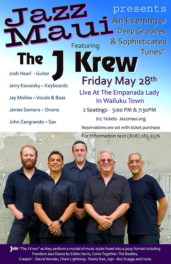 "Jazz Maui Presents: ""The J Krew"""