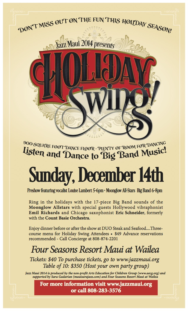 Holiday Swing - JazzMaui.org